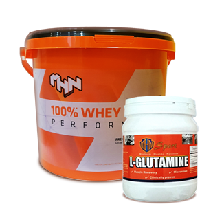 100% Whey Protein Performance + L-Glutamine